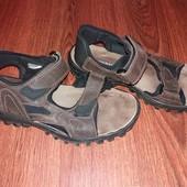Кожаные сандали George 41р. 27 см