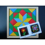 Мозаика-геометрика, 2 вида фигур, Komarovtoys Артикул: А 347