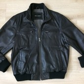 кожанная куртка Marks&Spencer  размер М