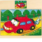 Пазл «Машинка Torі», Bino Артикул: 88087