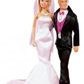 Распродажа - Кукла Штеффи и Кевин Свадебный день 29 см. от Simba король королева