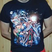 Фирменная стильная футболка бренд Roman ticiam.м-л