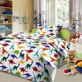 Динозаврики,постельное белье для детей