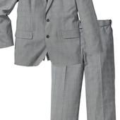 Костюм Regular Fit светло-серый Бонприкс 52-54 размер