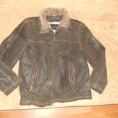 Новая кожаная куртка на мужчину р 54