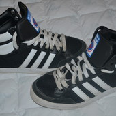 Кроссовки-ботинки Adidas замша в идеале стелька 26.5 см
