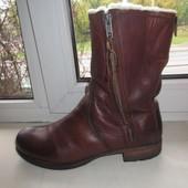 Зимние кожаные ботинки Blackstone 41 р.
