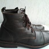Кожаные демисезонные ботинки Levis 43р. Оригинал. Индия.