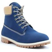 Зимние Мужские Ботинки Синие