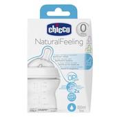 Бутылочка Chicco Natural Feeling, 150мл, 0м