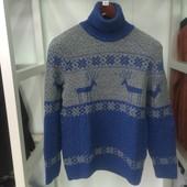 Мужской свитер ELM электрик