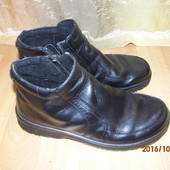 (№і0121)кожаные ботинки 41-42 р Mubb