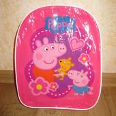 Детский рюкзачок (рюкзак)  Свинка Пеппа