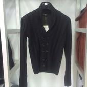 Мужской свитер BY Teo черный
