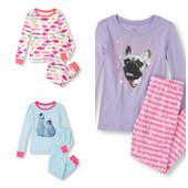 Пижама для девочки 4 года 96-104 см childrensplace. 100 % хлопок. Товар привезен из США, оригинал.