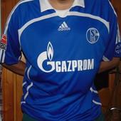 Фирменная оригинал футбольная футболка Adidas .Ф.к Шальке .хл-