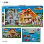 Домик Happy Family , флоксовые животные 012-03