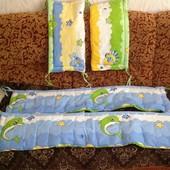 Защитные бортики на кроватку