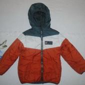 Классная двухсторонняя куртка на мальчика