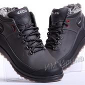 Мужские кожаные ботинки Ecco Yak Biom