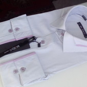 Супер-цена! Рубашки для больших и маленьких мужчин)) Приталенные  и класика, s-2xl, ворот 38-46.