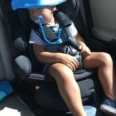 Безопасный сон малыша в машине. 2  цвета