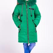 "Зимняя куртка для девочки ""Мода"" (6 расцветок)"