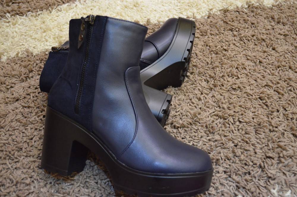 Ботинки на флисе фото №1