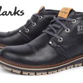 Ботинки Clarks Urban Tribe на меху, натур кожа.2 цвета