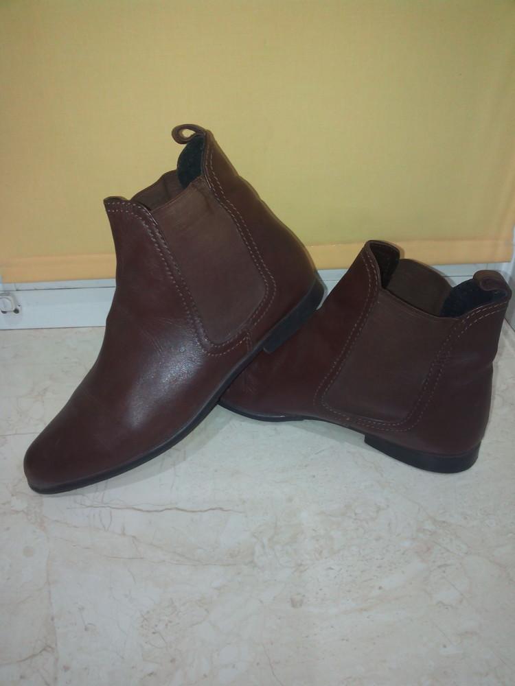 Кожаные ботиночки фото №1