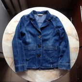 Джинсовка джинсовый пиджак на девочку фирмы George на возраст 9-10 лет