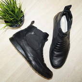 (42р.) Италия! Sorbino! Кожа! Крутые ботинки, стильные сапоги