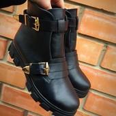 Ботинки натуральная кожа 36-40 зима