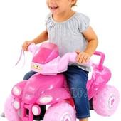 Машинка-толокар Kiddieland Принцесса розовый, свет, звук