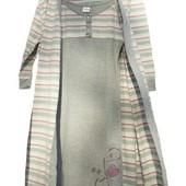 К-т халат+нічна сорочка/ К-т халат+ ночная рубашка 100% хлопок