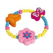 Браслет розовый «Цветок», Bino Артикул: 89044