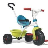 Трехколесный металлический велосипед Smoby (Синий)