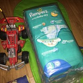 Pampers active baby dry 3 - 54 шт