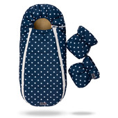 Конверт в коляску и санки на овчине Baby Xs Доречі (цвета в ассортименте)