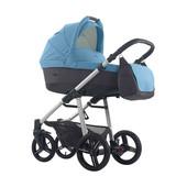 Детская универсальная коляска 2в1 Bebetto Vulcano синий
