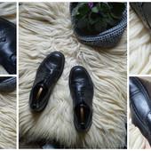 Кожаные мужские туфли-броги р-р 42