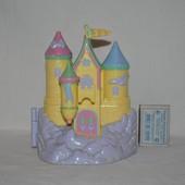 Домик замок Polly Pocket для малюсеньких маленьких куколок полли покет