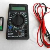 Цифровой мультиметр(тестер) 830 В