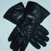 Heros теплющие классные перчатки,8 размер,на Thinsulate,кожа