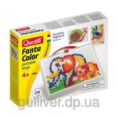 Набор - для занятий мозаикой (10 мм фишки (270 шт.) + доска 28х20, переносной)