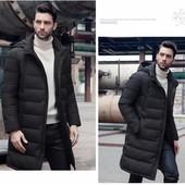 Мужская удлиненная куртка Аляскин