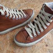 Кожаные ботинки Converse-зима, оригинал 40 размер,длина стельки-26 см