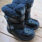 Зимние ботинки Cougar, разм Uk 8 или Eur 25, стелька 15,8 см
