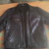 мужская кожиная куртка