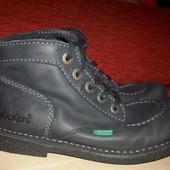 Кожаные универсальные ботинки Kickers 39 р сост хорош